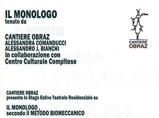 Laboratorio Il Monologo