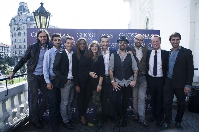 Cast Ghost - ph. Gianluigi Di Napoli