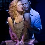 Ghost west end - Caissie Levy (Molly Jensen) and Richard Fleeshman (Sam Wheat)