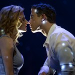 Ghost west end - Caissie Levy (Molly Jensen) and Richard Fleeshman (Sam Wheat) 2