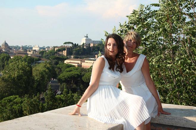 Roma tra storie canzoni vizi e passioni - giardino