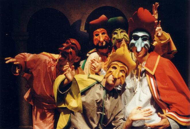 teatro a l' avogaria_Zanni gruppo
