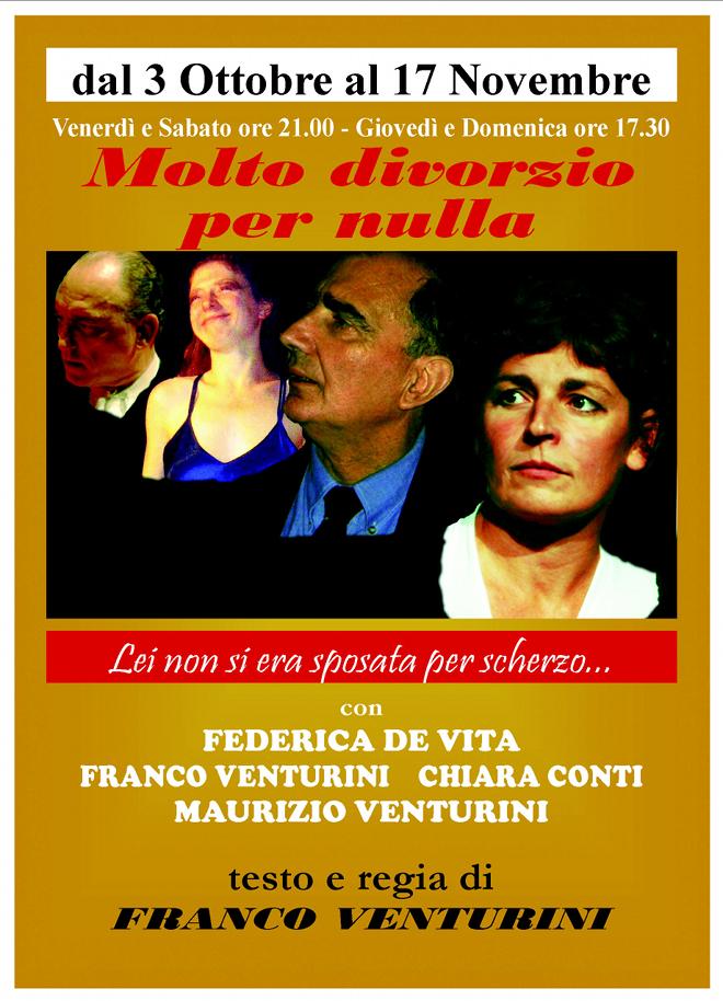 molto divorzio per nulla_Teatro Flavio roma