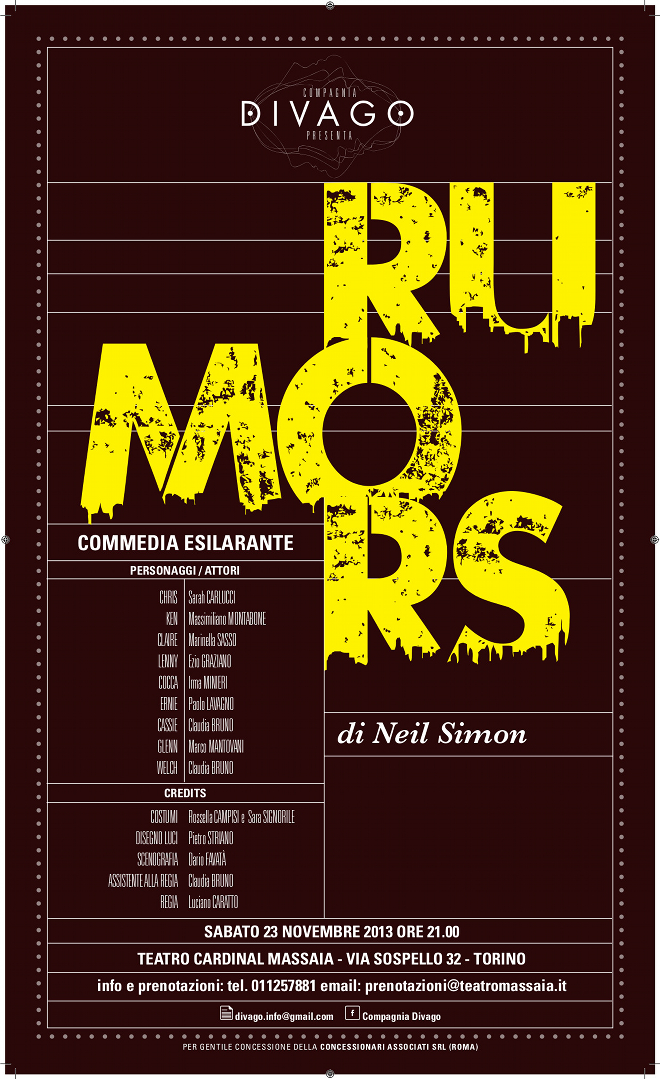 Rumors di Neil Simon