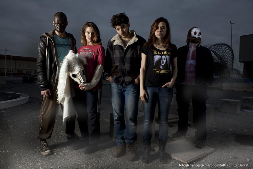Cinque allegri ragazzi morti_IL MUSICAL LO FI a Roma il 30gennaio_foto Francesca Martino