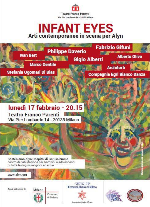 alyn hospital il 17 febbraio al Franco Parenti_locandina