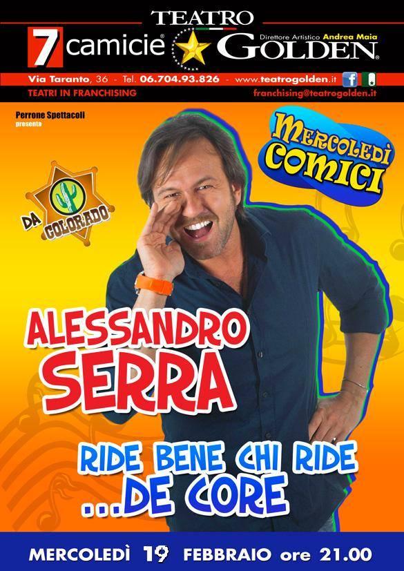 Alessandro Serra al Golden Roma