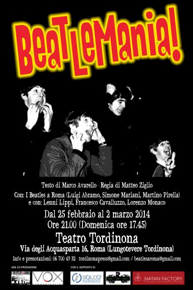 Beatlemania debutta a Roma il nuovo spettacolo de I Beatles a Roma