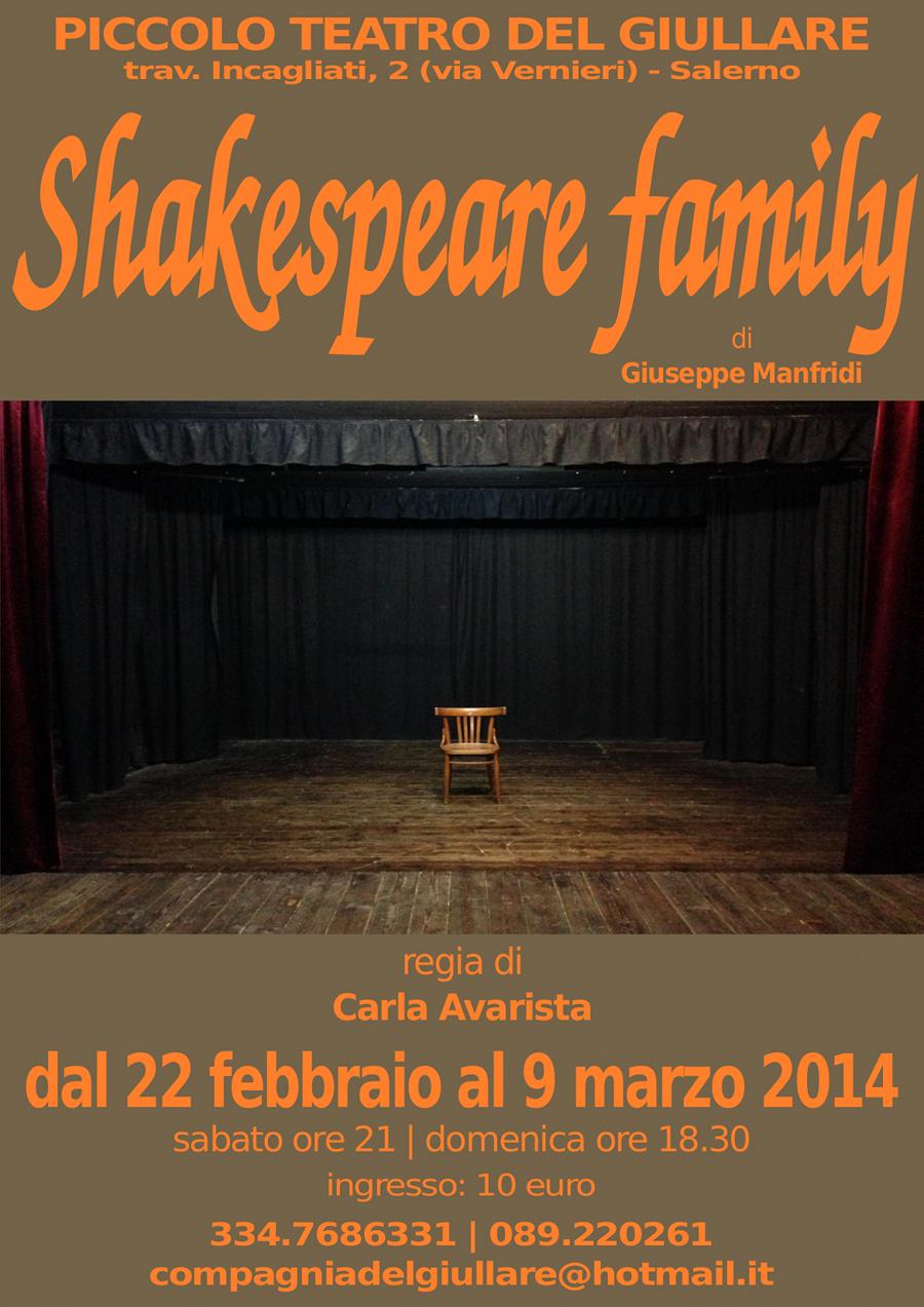 Shakespeare Family Teatro del Giullare Salerno