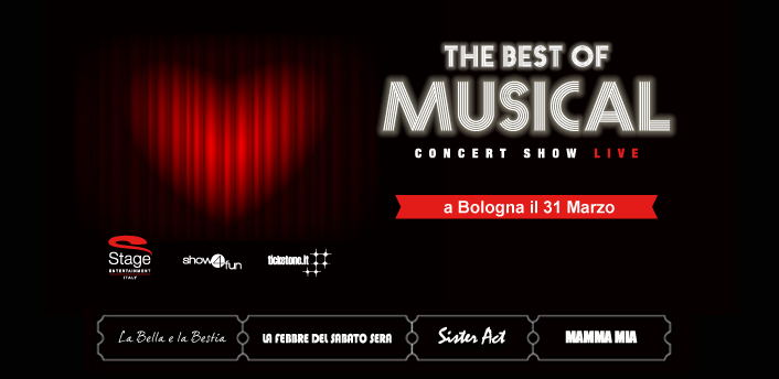 THE BEST OF MUSICAL Stage Entertainment al Teatro EuropAuditorium Bologna