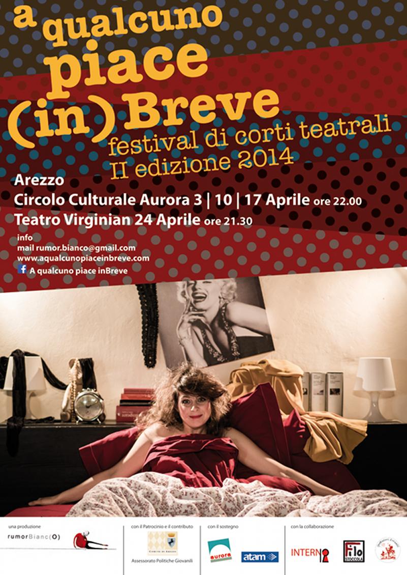 A qualcuno piace (in)Breve festival_Arezzo_locandina