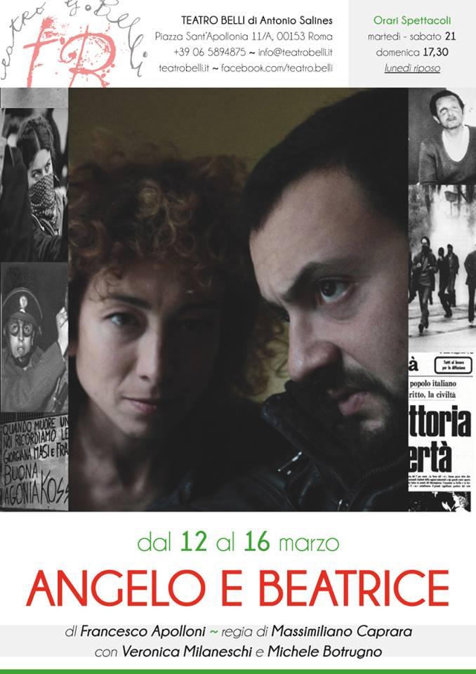 Angelo e Beatrice al Teatro Belli di Roma