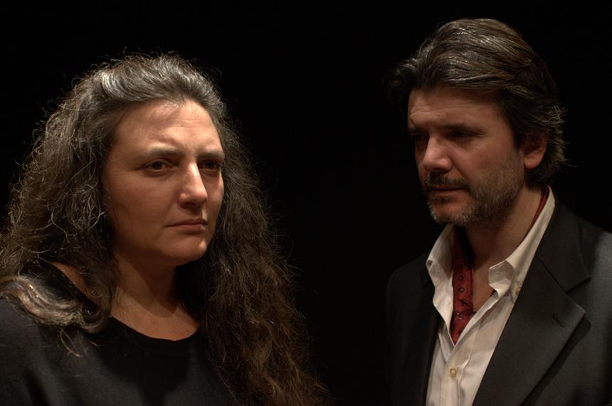 La finzione della vita Teatro Oscar Milano_Isabella Giannone - Francesco Branchetti (4)