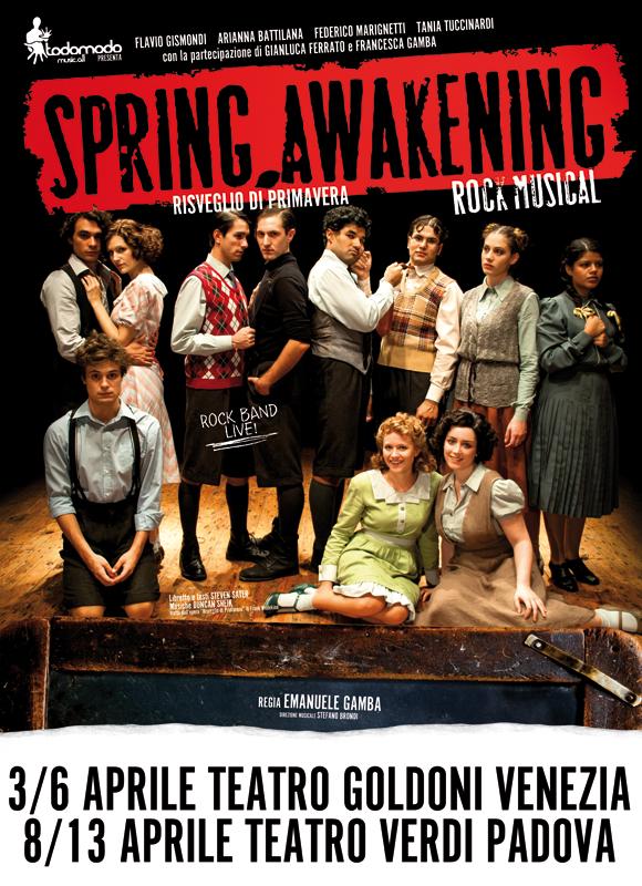 Spring Awakening Venezia Teatro Goldoni