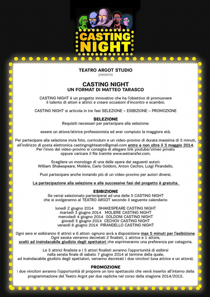 casting night_bando