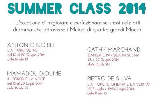 Summer Class 2014 Teatrosenzatempo Roma_tg