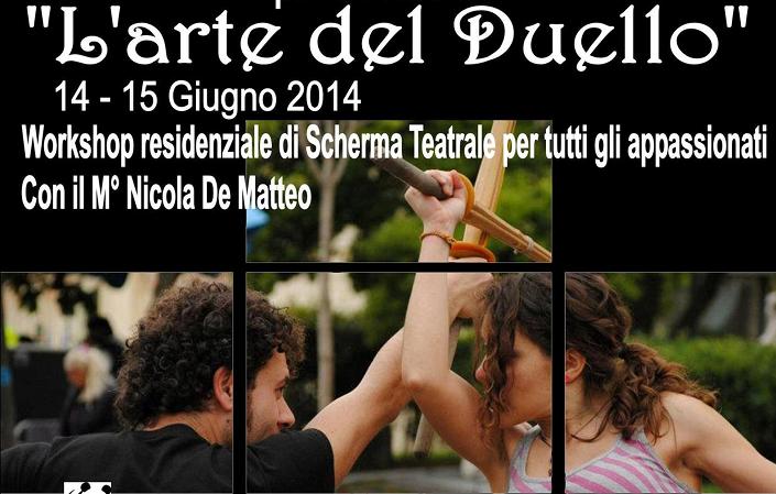 Workshop Scherma Teatrale _Caserta 2