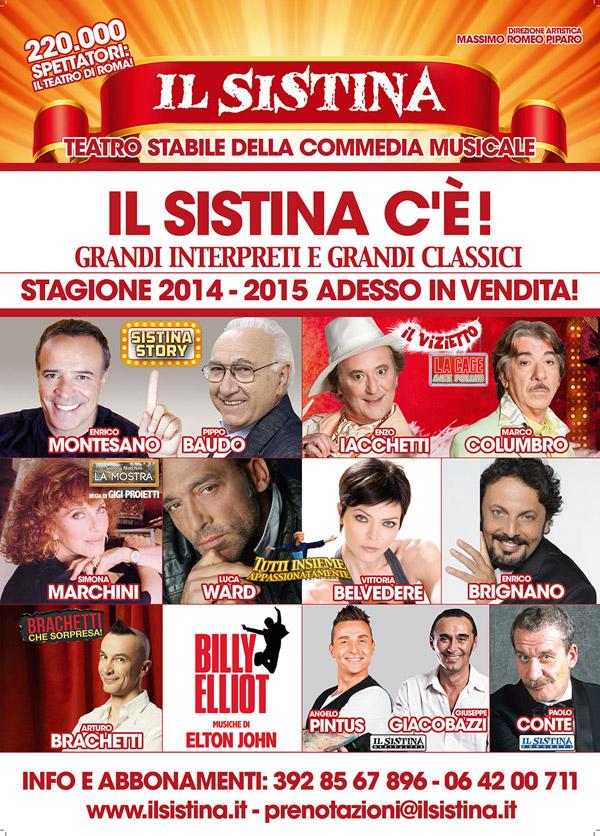 stagione teatro sistina 2014 2015