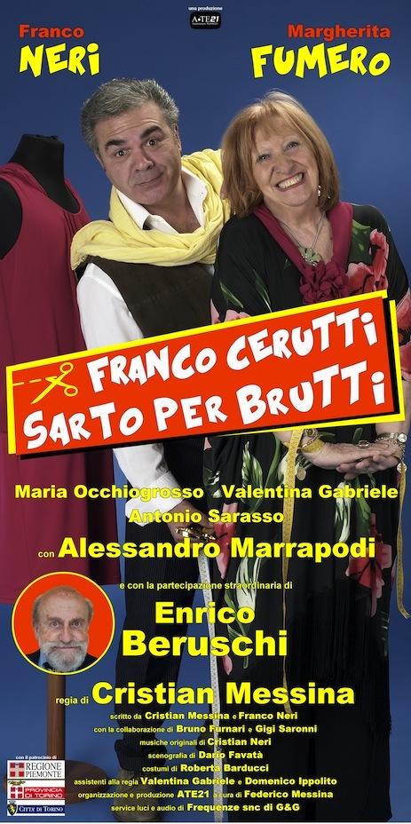 Franco Cerutti sarto per brutti_Franco Neri_Margherita Fumero_Enrico Beruschi_locandina