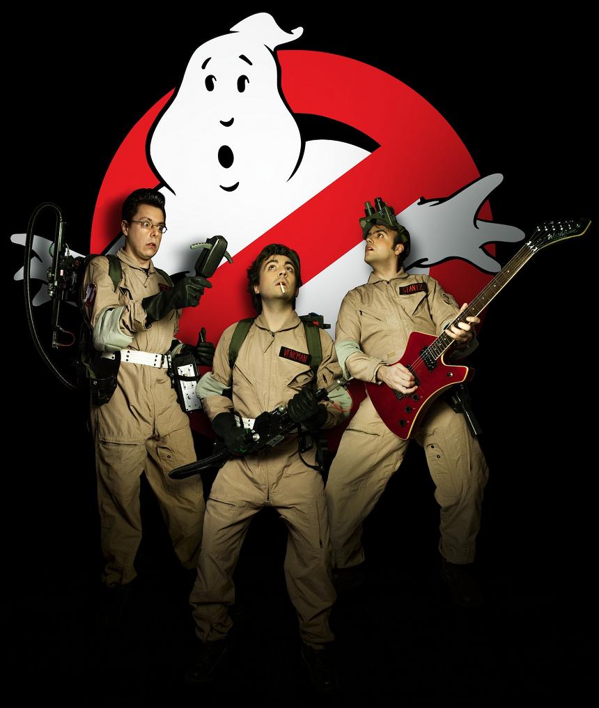 Ghostbusters Live musical_Milano_Italia_locandina