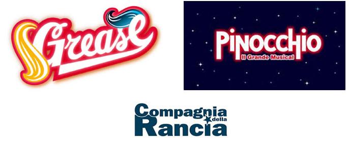 Compagnia della Rancia audizioni Grease e Pinocchio_bando!