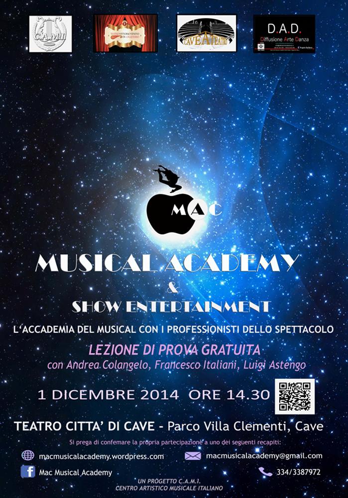 Mac Musical Academy Roma_locandina