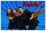 Annie Jr musical milano backstage trio
