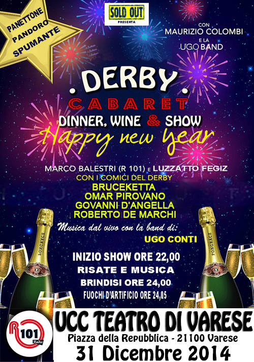Derby Cabaret Capodanno_Maurizio Colombi e tanti ospiti (VA)