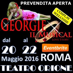 Georgie il musical_Banner