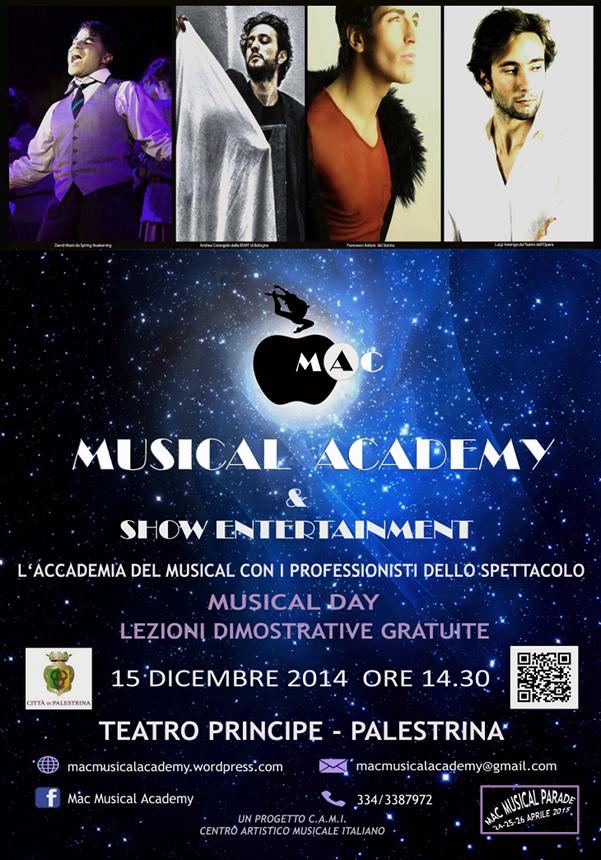 Mac Musical Academy_locandina palestrina roma