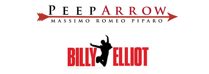 billy elliot peep arrow casting audizioni roma