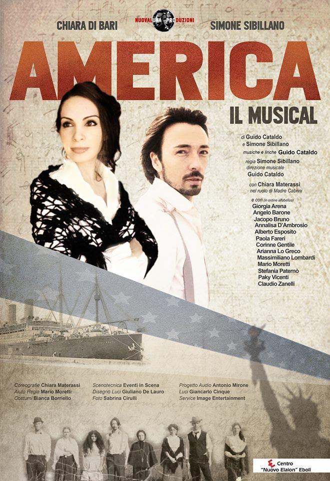 America il musical_Simone Sibillano_locandina