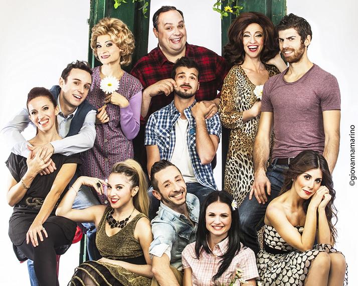 Sara' perche' Ti Amo musical_gruppo cast_tag