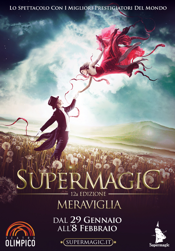 Supermagic 2015 Meraviglia_Festival Magia_Locandina