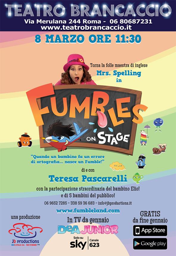 Mrs Spelling Fumbles_Brancaccio_Locandina Roma