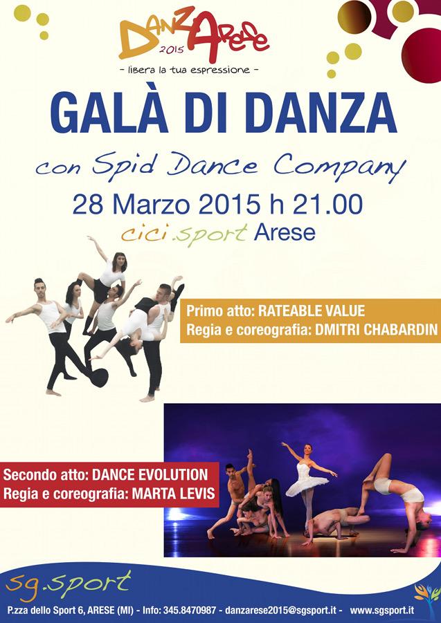 Danzarese 2015_Gala' di Danza con Spid Dance Company
