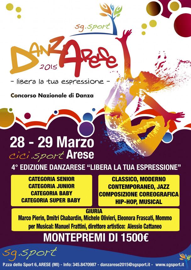 Danzarese - concorso di danza
