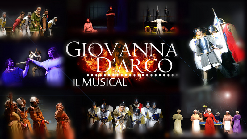 Giovanna d'Arco il Musical poster