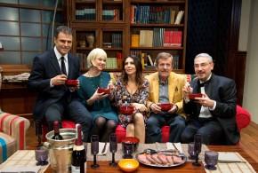Sabrina Ferilli_Signori.. le pate' de la maison_gruppo