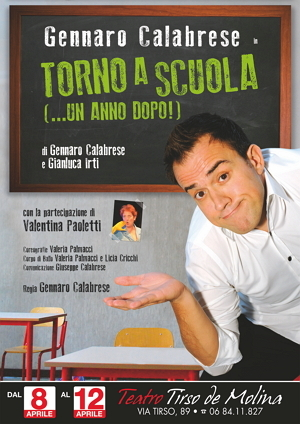 Torno a Scuola - un anno dopo_Gennaro Calabrese_locandina