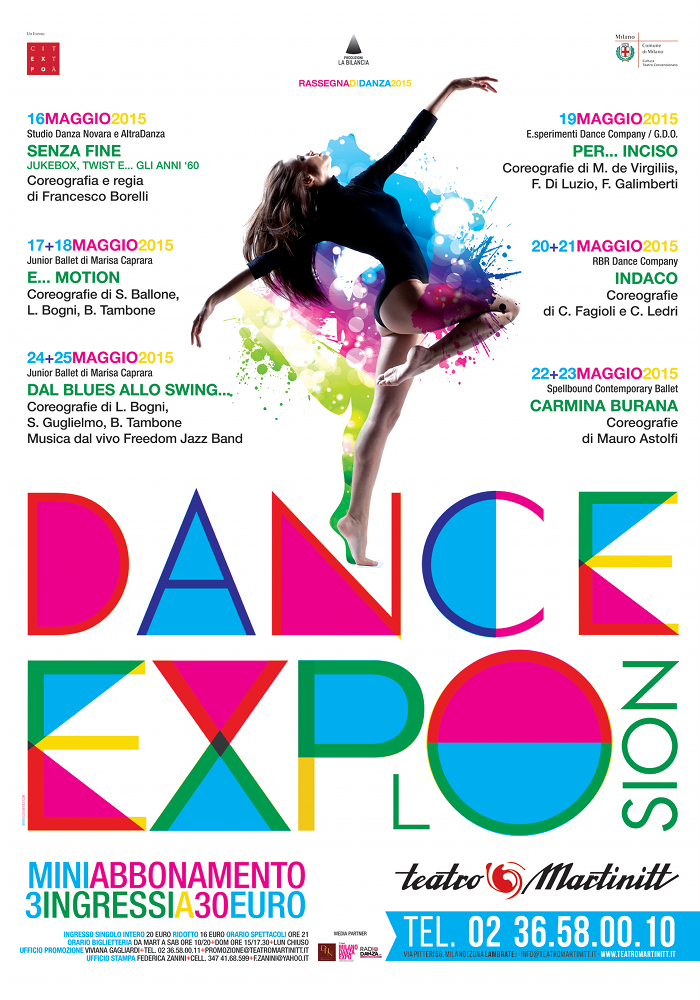 Dance Explosion 2015_Locandina