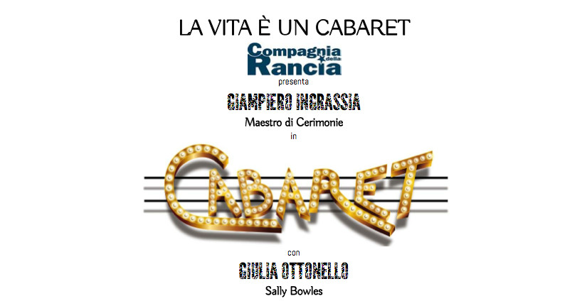 Giampiero Ingrassia Giulia Ottonello_Cabaret
