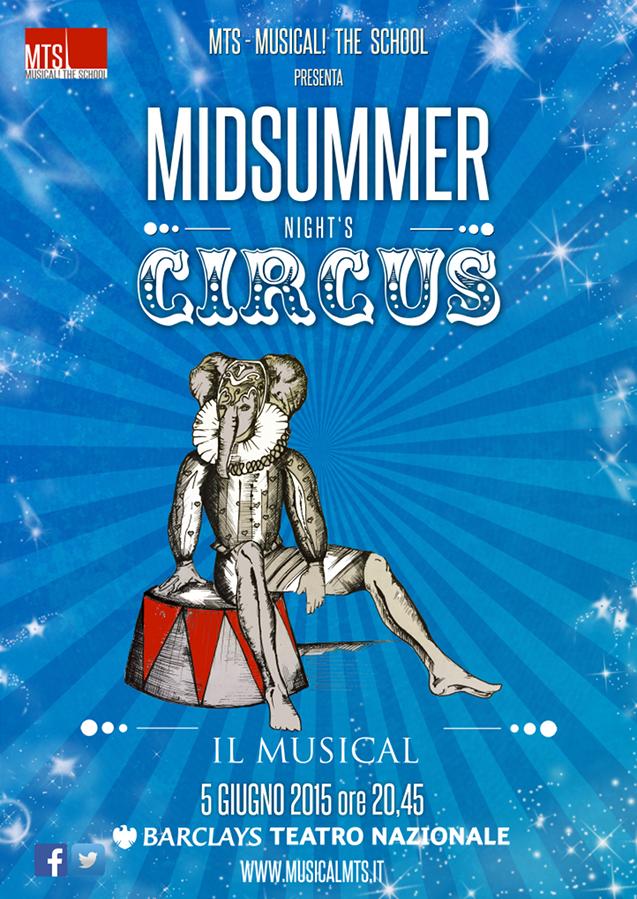 Midsummer night's circus_Locandina
