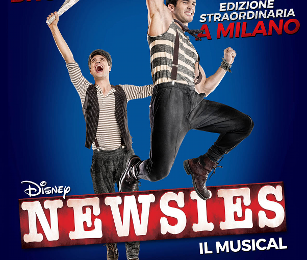 NEWSIES musical POSTER_tag