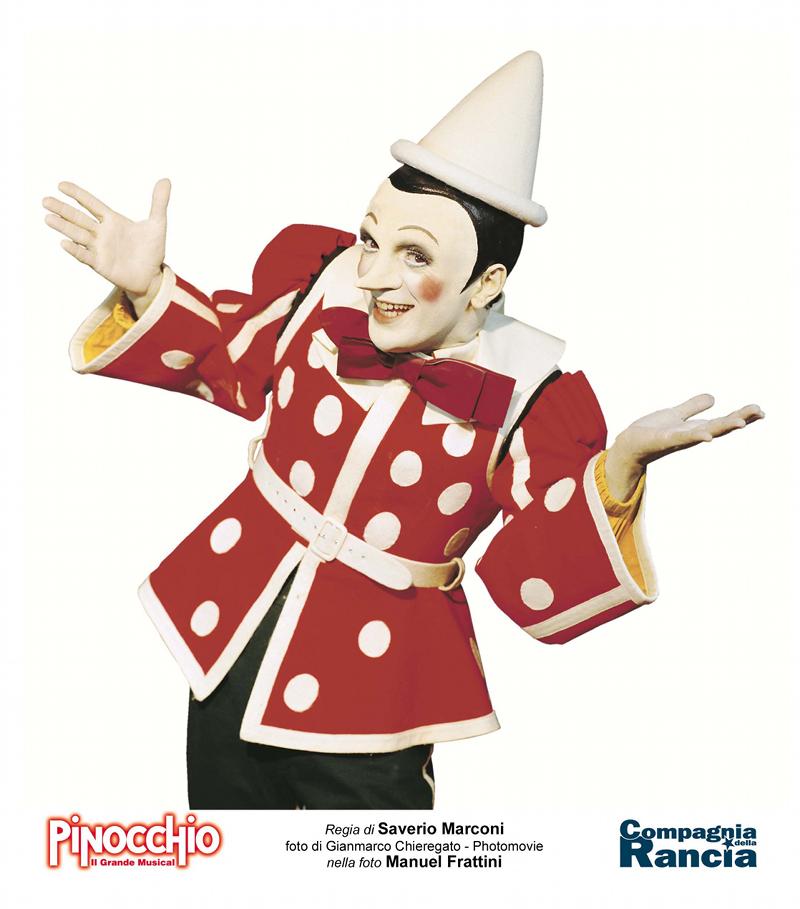 Pinocchio il grande musical manuel frattini