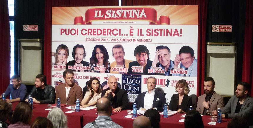 Teatro Sistina Roma 2015-2016_conf stampa