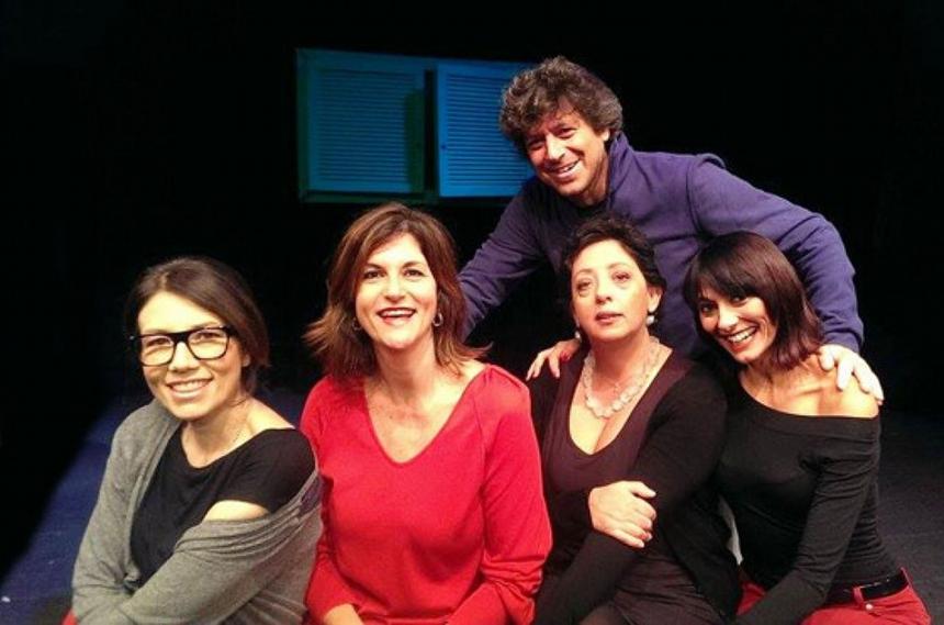 BEATRICE FAZI, FEDERICA CIFOLA, GIULIA RICCIARDI, BARBARA BEGALA - Michele La Ginestra