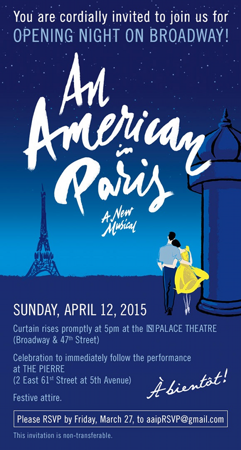 Gloria Grace Alanis_An American in Paris Opening Broadway