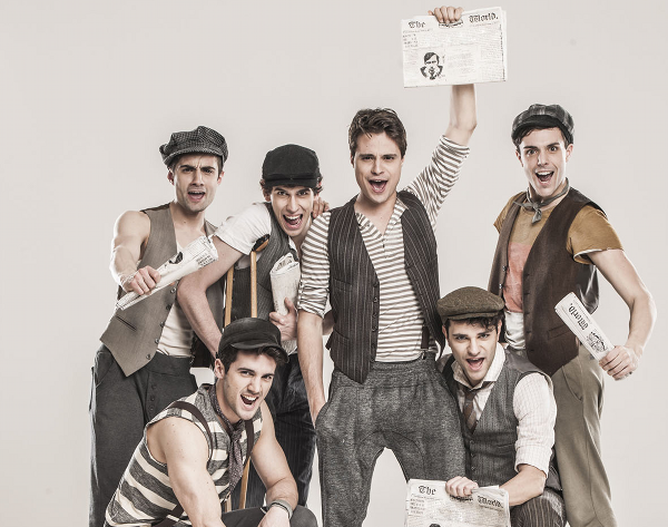 Newsies musical_cast_ tag