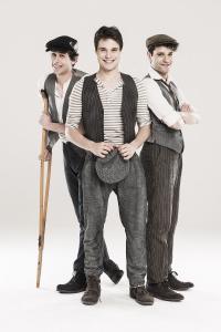 Newsies musical_triopng